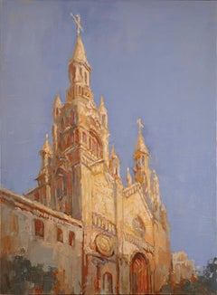 St. Peter and Paul Cathedral 1, Oil Painting