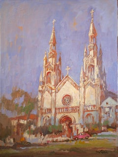 St. Peter and Paul Cathedral 2, Oil Painting