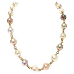 Yvel Pearl Station Necklace N8BRQLY