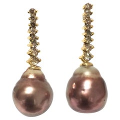 Yvel Pearls and Diamonds Earring E6MIABRSY