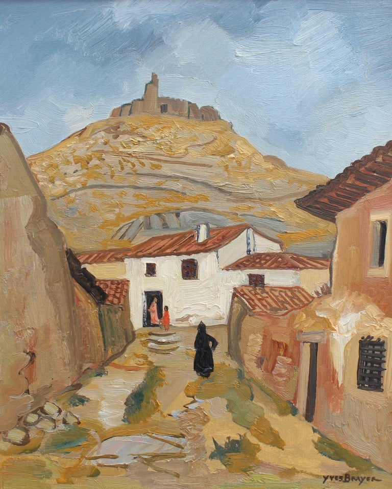 Yves Brayer Landscape Painting - Spanish Street