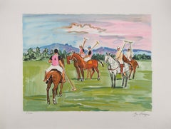 Polo Payers - Original Lithograph Handsigned Numbered
