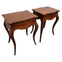 Yves De Lorne Custom Side Tables, a Pair