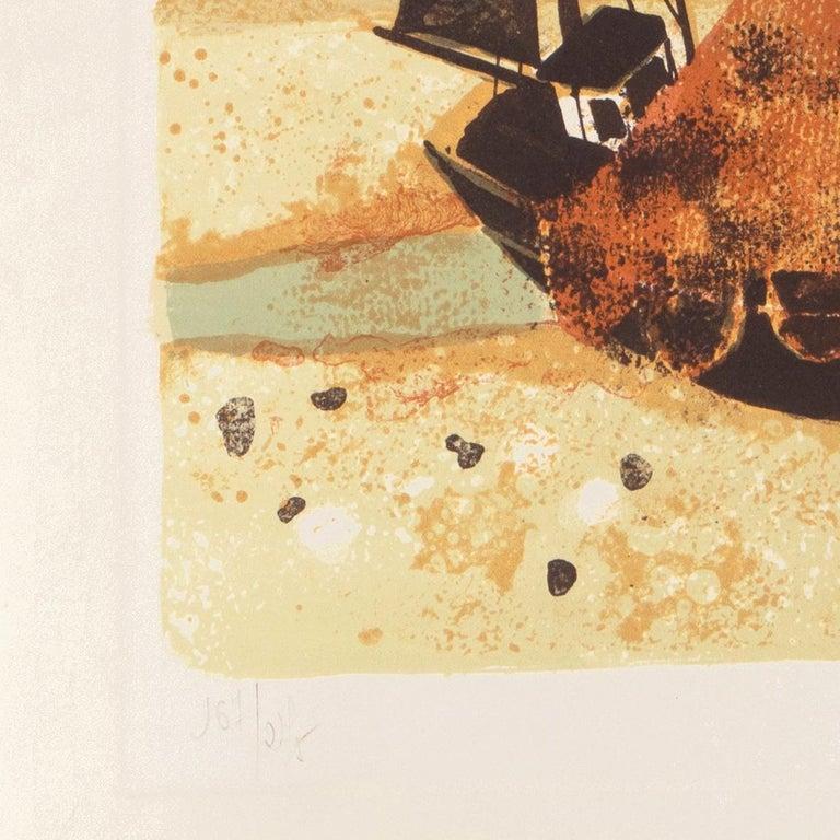'Low Tide, Brittany', Musée d'Art Moderne, Paris, Ecole des Beaux-Arts, Benezit For Sale 5