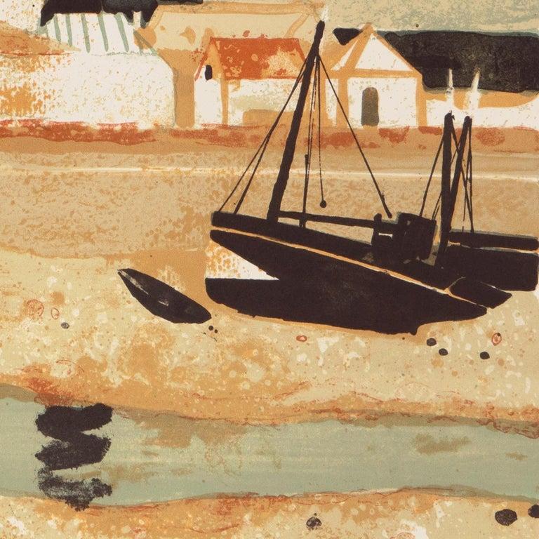 'Low Tide, Brittany', Musée d'Art Moderne, Paris, Ecole des Beaux-Arts, Benezit For Sale 2