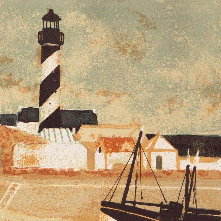 'Low Tide, Brittany', Musée d'Art Moderne, Paris, Ecole des Beaux-Arts, Benezit For Sale 3