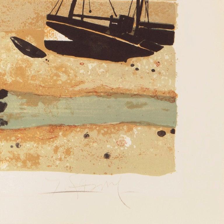 'Low Tide, Brittany', Musée d'Art Moderne, Paris, Ecole des Beaux-Arts, Benezit For Sale 4