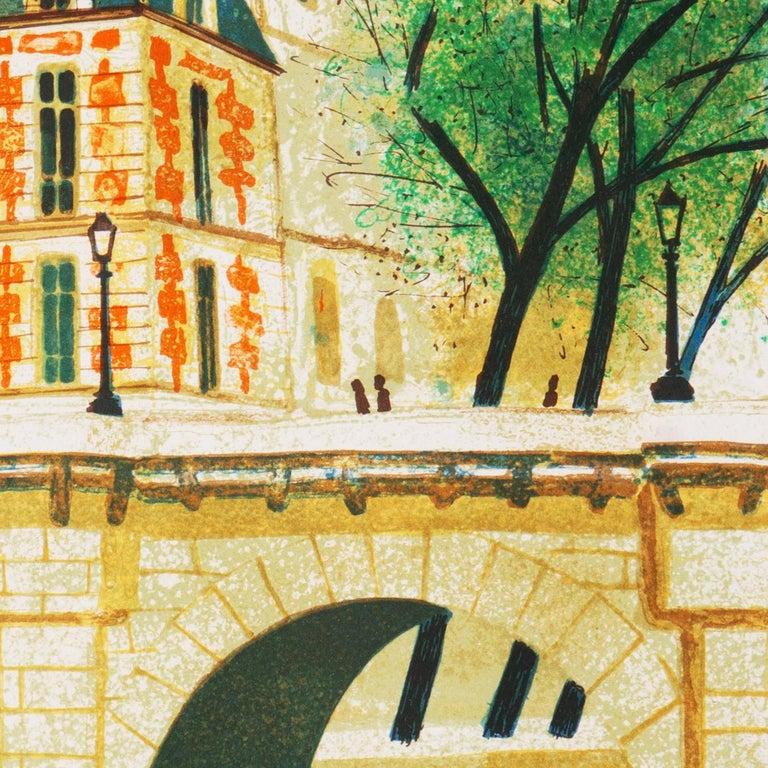 'Paris, The Pont Neuf', Post-Impressionist, Fernand Léger, Musée d'Art Moderne For Sale 6