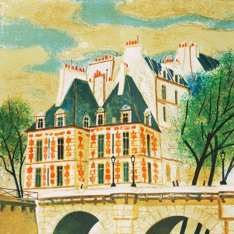 'Paris, The Pont Neuf', Post-Impressionist, Fernand Léger, Musée d'Art Moderne For Sale 1