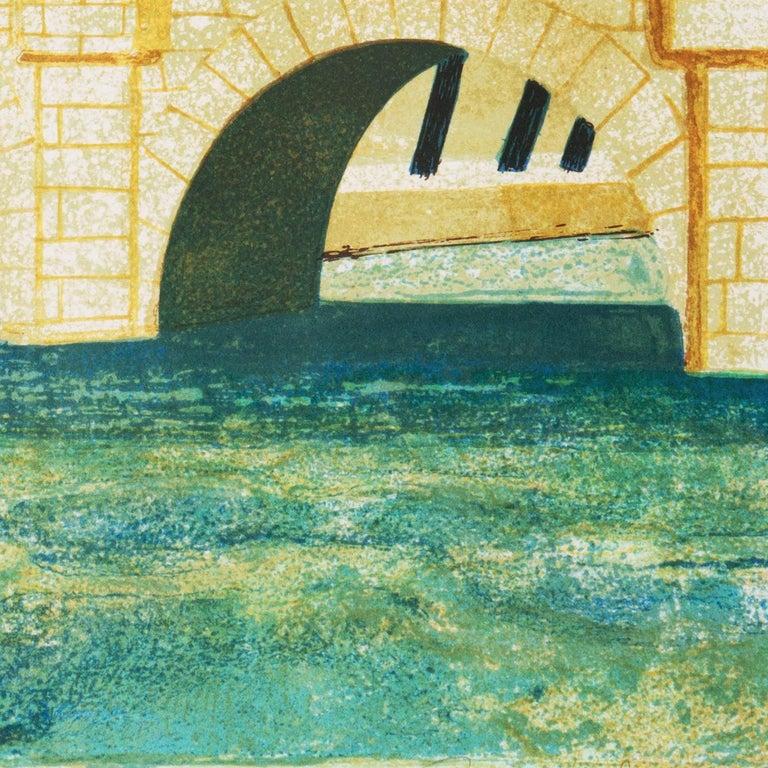 'Paris, The Pont Neuf', Post-Impressionist, Fernand Léger, Musée d'Art Moderne For Sale 3