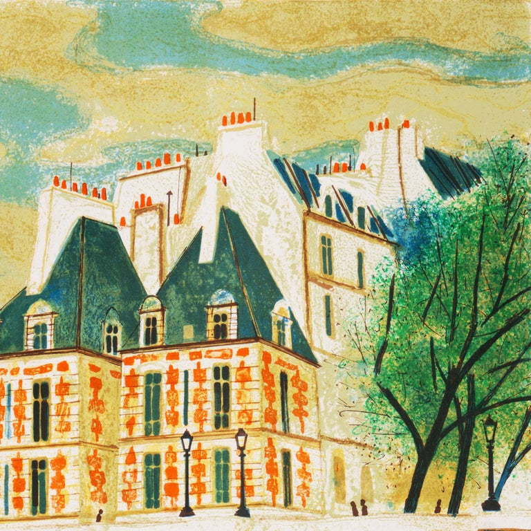 'Paris, The Pont Neuf', Post-Impressionist, Fernand Léger, Musée d'Art Moderne For Sale 5