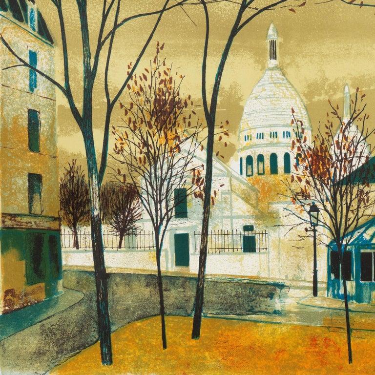 'Place du Tertre, Montmartre', Paris, Ecole des Beaux-Arts, Musée d'Art Moderne For Sale 1