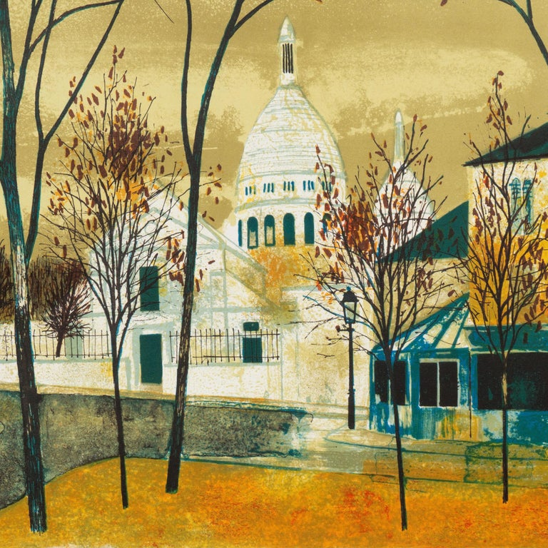 'Place du Tertre, Montmartre', Paris, Ecole des Beaux-Arts, Musée d'Art Moderne For Sale 2