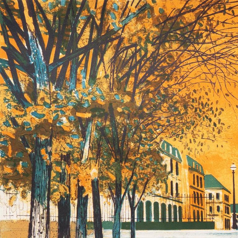 Post Impressionist View of the Place Vendôme, Paris   For Sale 3