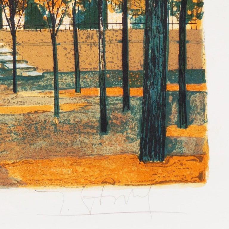 Post Impressionist View of the Place Vendôme, Paris   For Sale 4