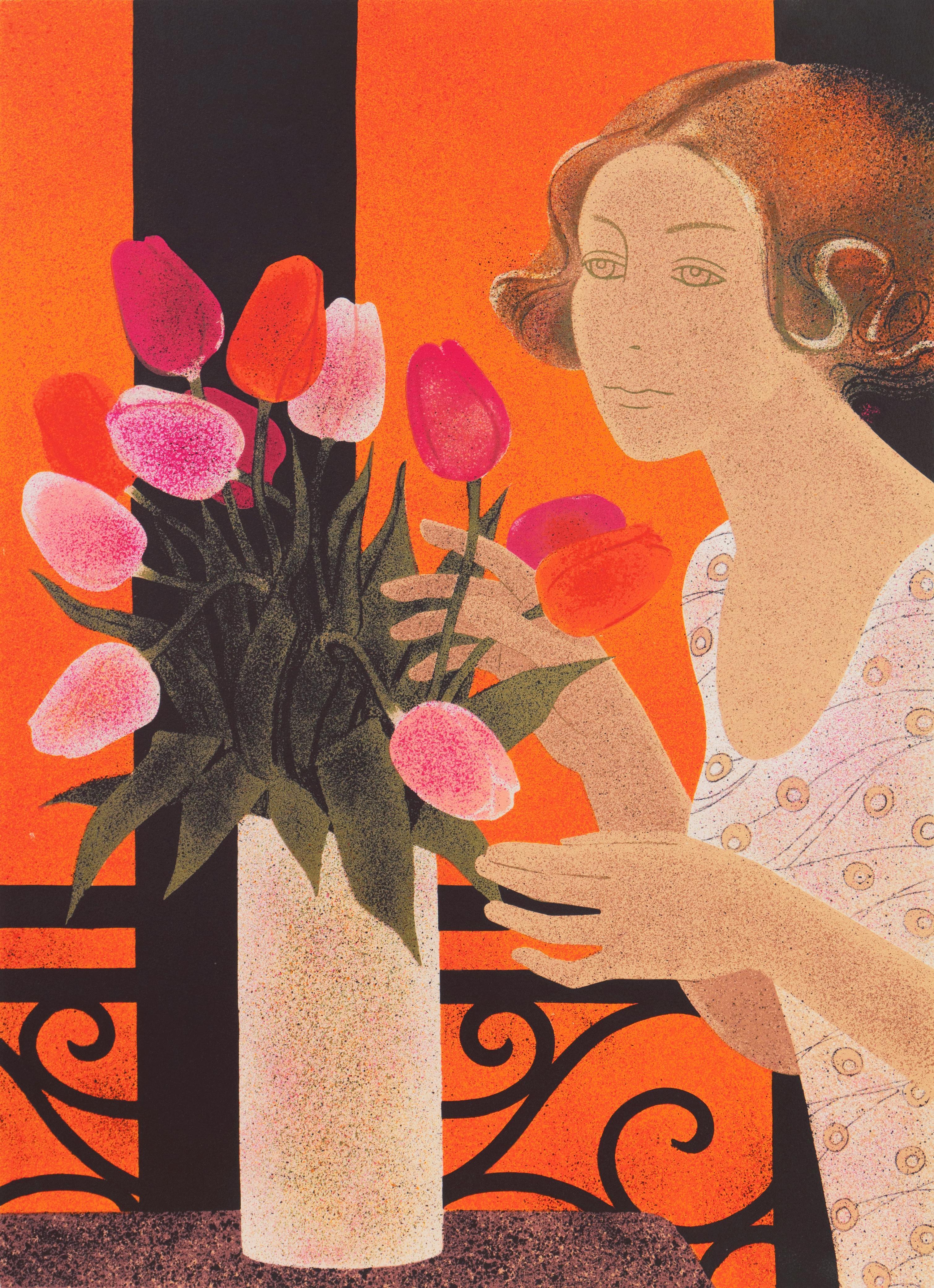 'Still Life of Tulips', Ecole des Beaux-Arts Nantes, Musée d'Art Moderne, Paris