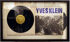 Yves Klein Conference at the Sorbonne 1959 Vinyl Record Hand-Numbered Edition