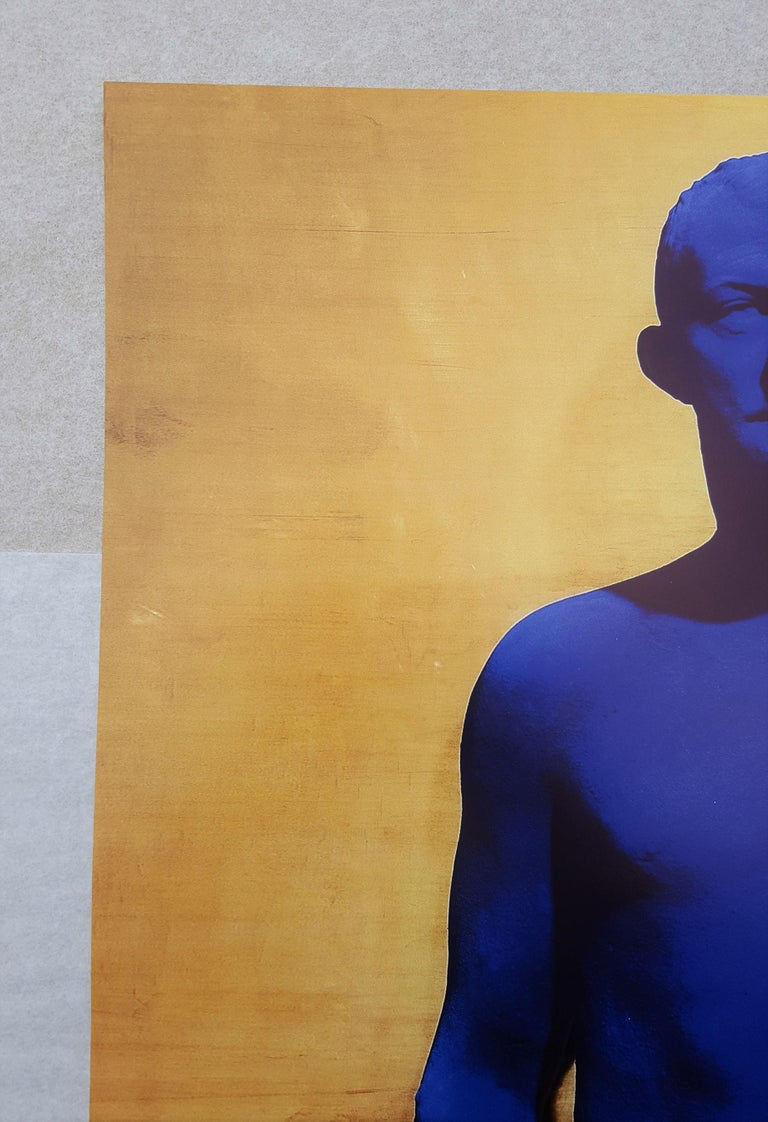 An original offset-lithograph poster on smooth wove paper after French artist Yves Klein (1928-1962) titled