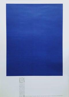 Monochrome Bleu (IKB 3) (framed)