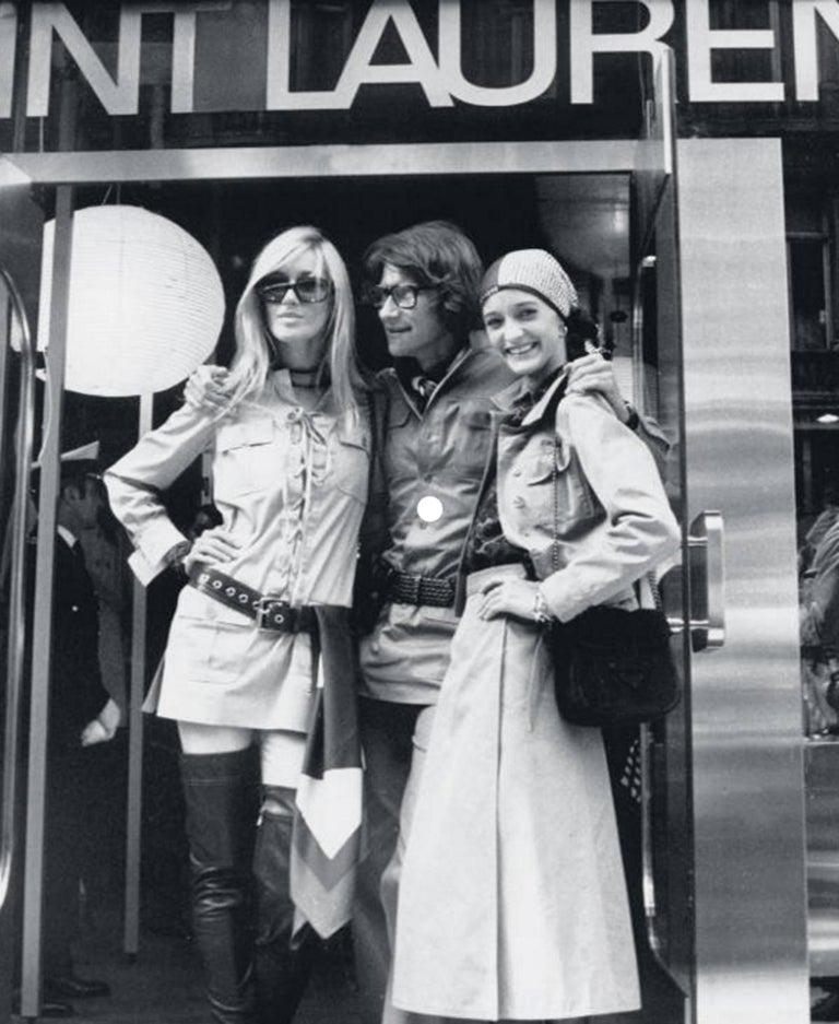 Yves Saint Laurent 1969 collection safari suit as seen on Loulou de la Falaise For Sale 5