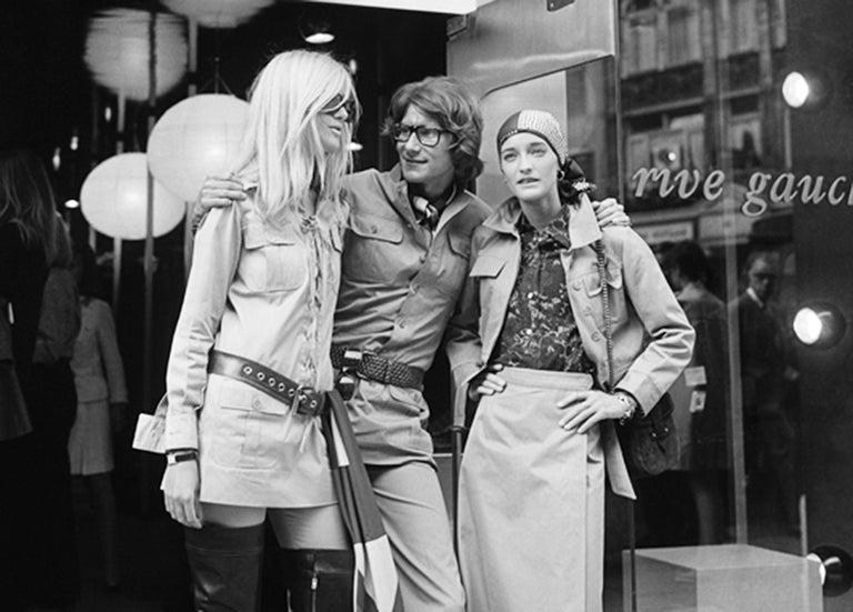 Yves Saint Laurent 1969 collection safari suit as seen on Loulou de la Falaise For Sale 4
