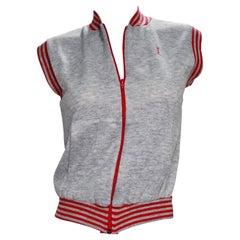 Yves Saint Laurent 1970s Grey Activewear Vest