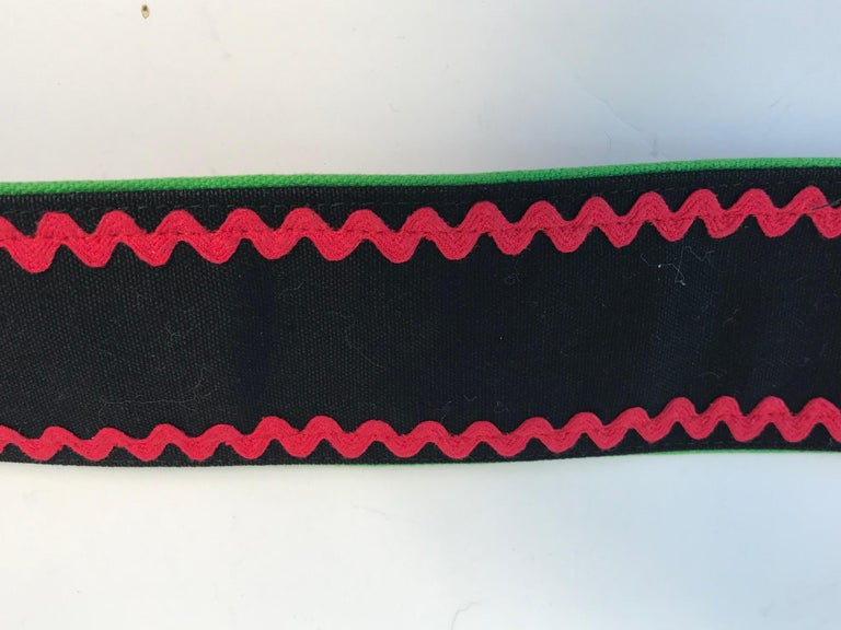 1970s Yves Saint Laurent waist belt. Condition:Very good.  Size Medium