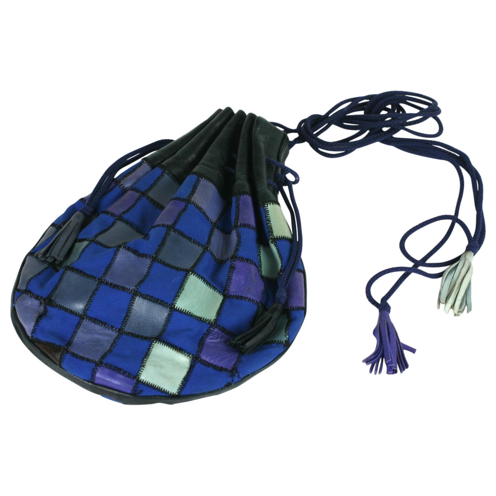 Yves Saint Laurent 1980's Patchwork Bag
