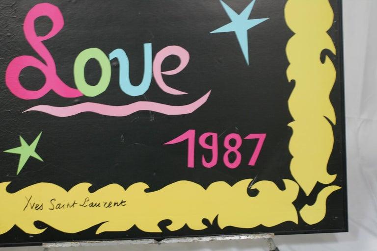 Yves Saint Laurent 1987