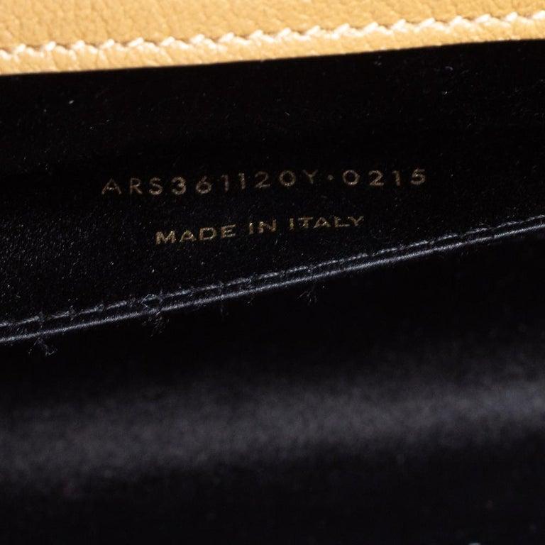 Yves Saint Laurent Beige Leather Belle De Jour Clutch For Sale 3