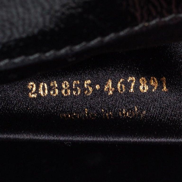 Yves Saint Laurent Black Patent Leather Belle De Jour Flap Clutch For Sale 4