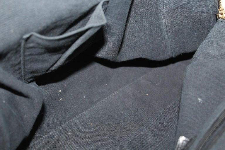 Yves Saint Laurent Black Patent Leather Shoulder Bag For Sale 6