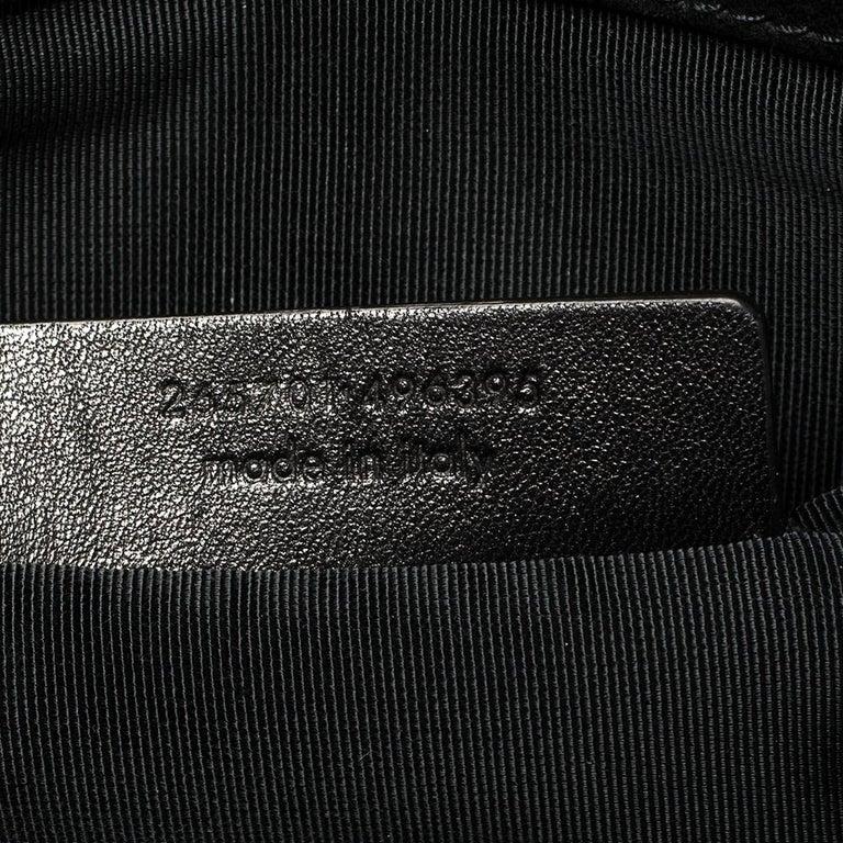 Women's Yves Saint Laurent Black Patent Leather Y-Ligne Clutch For Sale