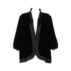 Yves Saint Laurent Black Velvet Jacket YSL, 1990s
