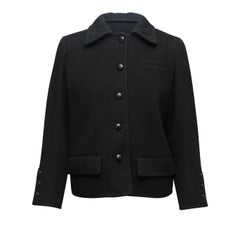 Yves Saint Laurent Black Wool Jacket