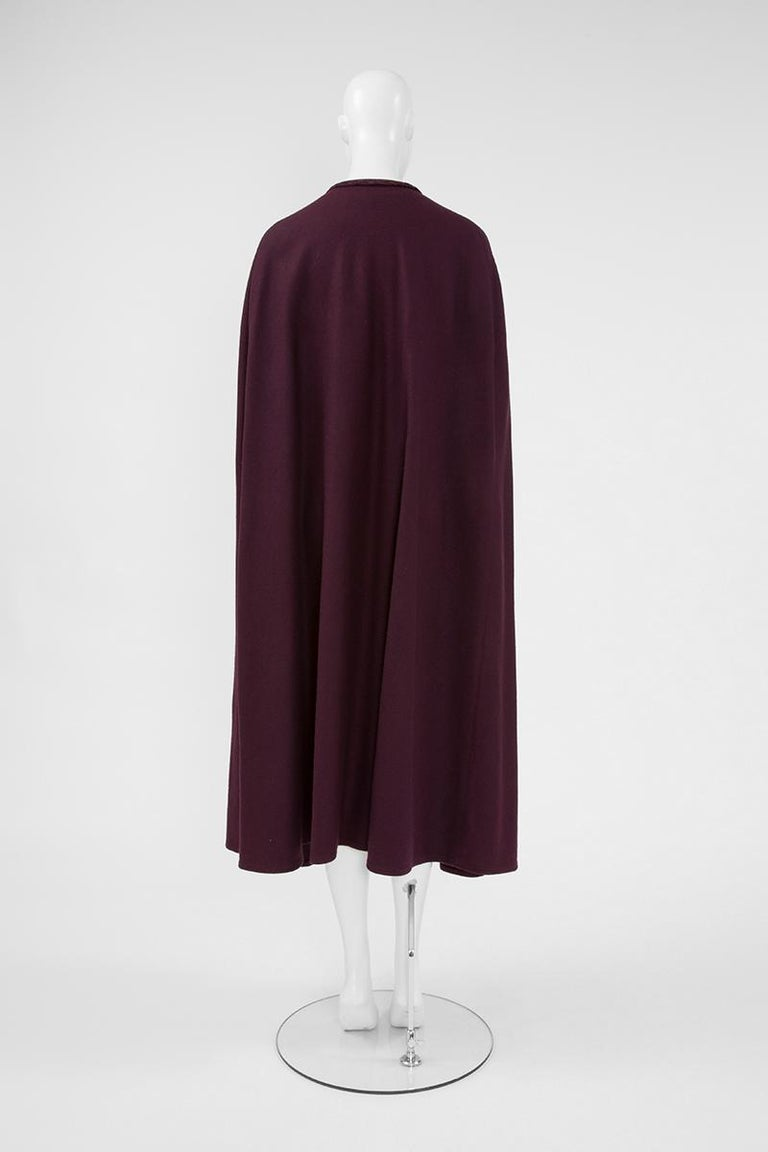 Yves Saint Laurent Braided Toggle Cape For Sale 1