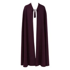 Yves Saint Laurent Braided Toggle Cape