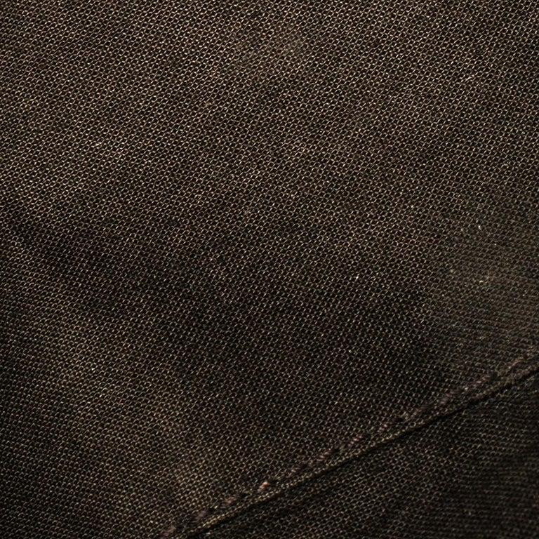 Yves Saint Laurent Burgundy Leather Medium Cabas Y-Ligne Tote For Sale 7