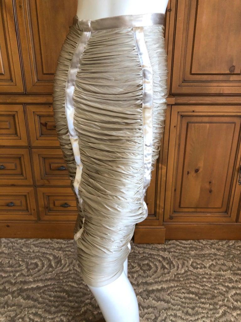 Women's Yves Saint Laurent by Tom Ford Parachute Draped Skirt For Sale