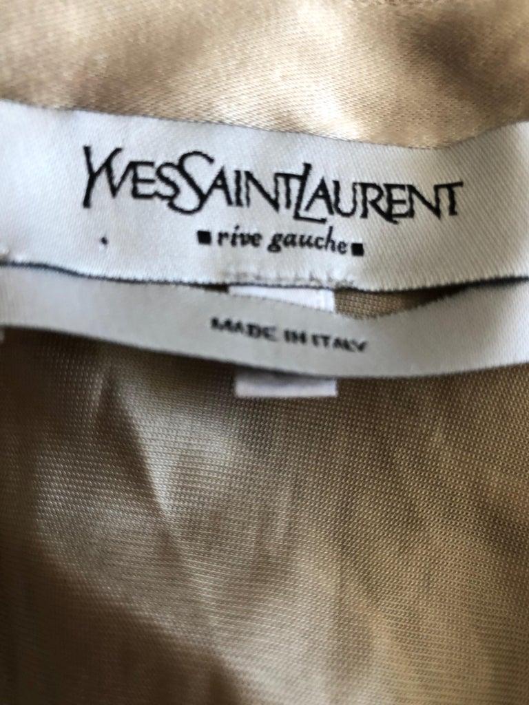 Yves Saint Laurent by Tom Ford Parachute Draped Skirt For Sale 3