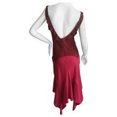 Yves Saint Laurent by Tom Ford Rose Silk Dress