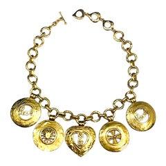 Yves Saint Laurent Charm Necklace