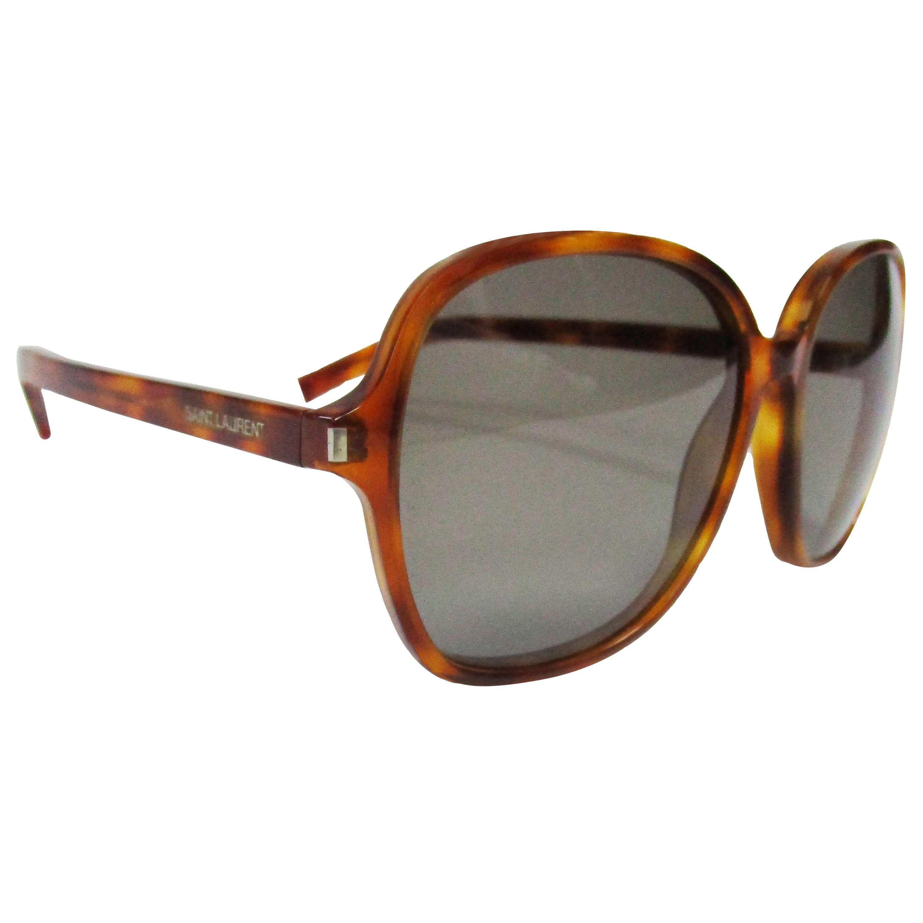 Yves Saint Laurent Classic 8 Tortoise Sunglasses