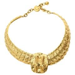 Yves Saint Laurent Collar Necklace Vintage