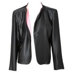 Yves Saint Laurent Couture Satin Evening Jacket