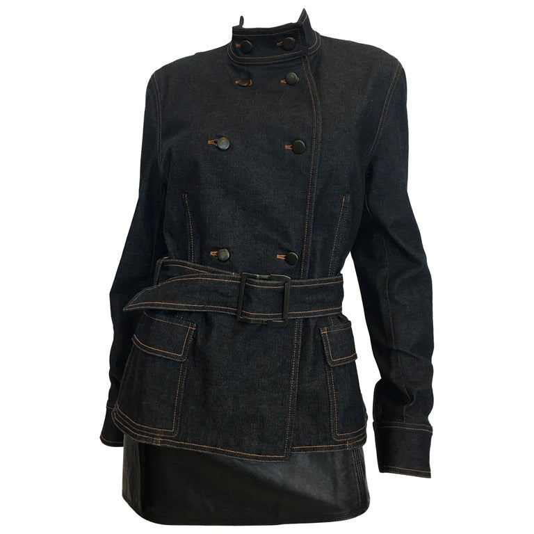 Yves Saint Laurent Denim Jacket, 1990s   For Sale