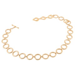 Yves Saint Laurent Gold-Tone Chain Belt