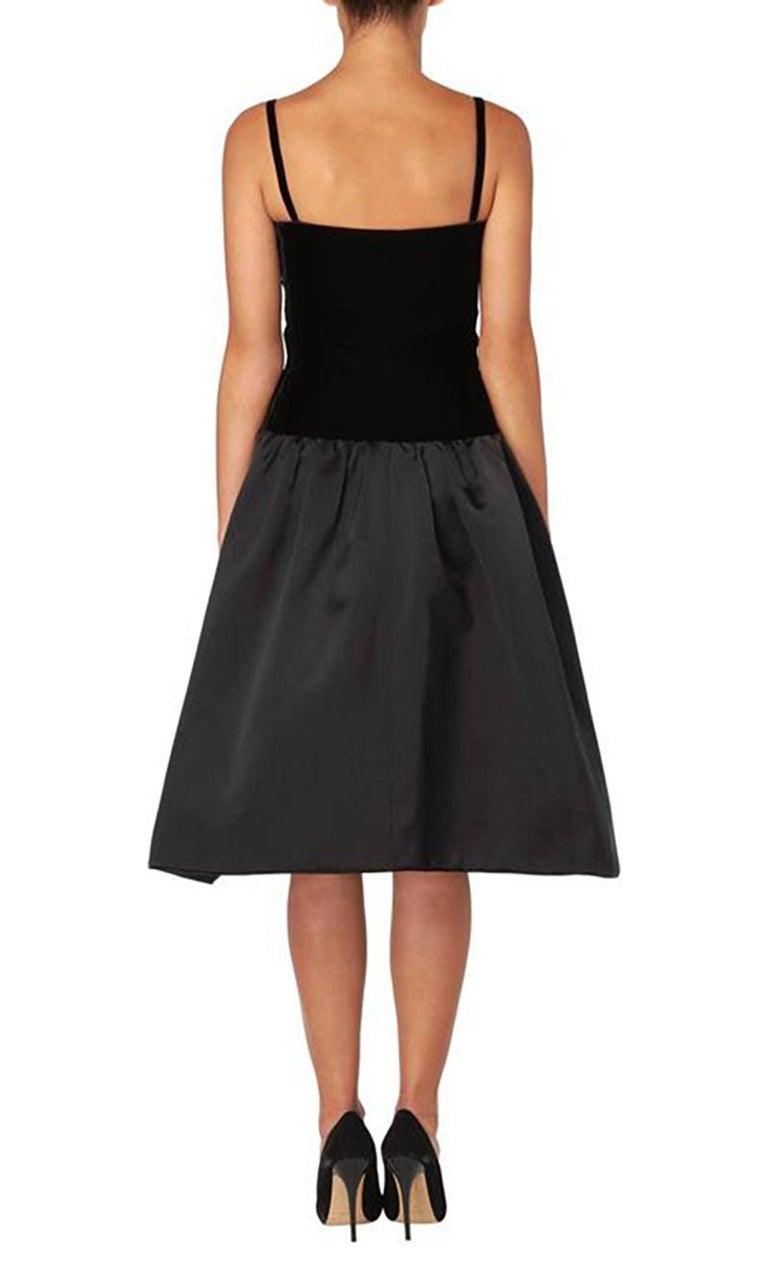 Black Yves Saint Laurent, Haute couture black dress, Autumn/Winter 1979 For Sale