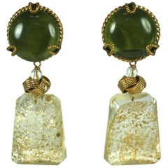 Yves Saint Laurent Haute Couture Chinese Collection Earrings