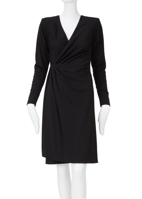 Yves Saint Laurent Haute Couture Dress black, Circa 1983 For Sale 1